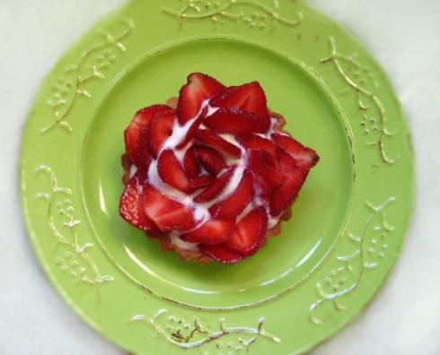 tarteletka-truskawkowa