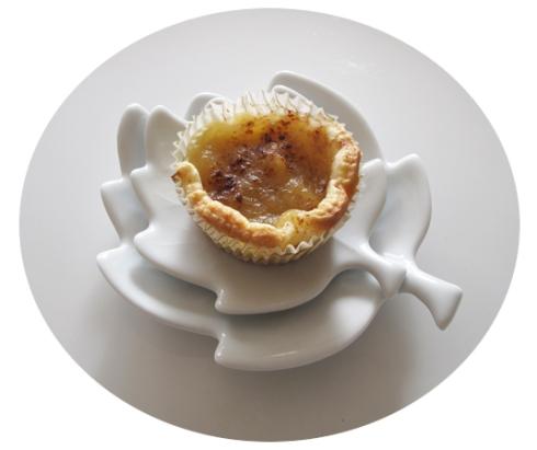 babeczki z ciasta francuskiego z jablkami 2