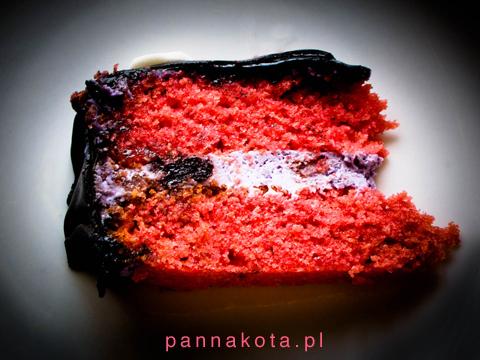 Czarny Tort Czaszka Czyli Red Velvet Cake Z Kremem Mascarpone I