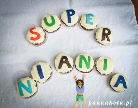 Babeczki dla Super Niani, pannakota.pl