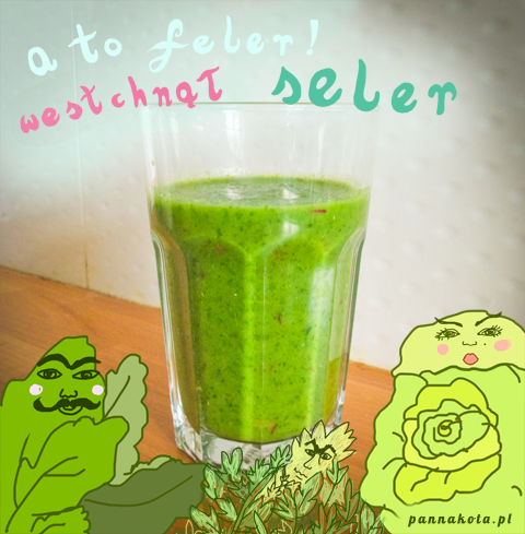 green-smoothie, pannakota.pl
