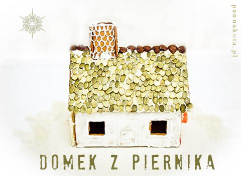 domek z piernika z dachówkami z dyni, pannakota.pl