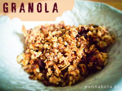 granola, pannakota.pl