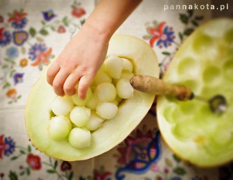 melon , pannakota.pl