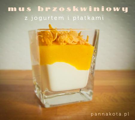 mus brzoskwiniowy, pannakota.pl