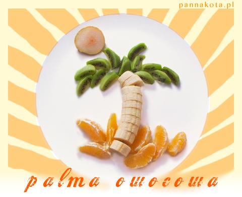 palma owocowa, pannakota.pl