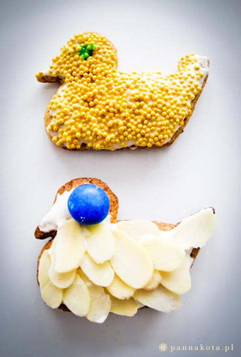 dekorowane pierniczki, pannakota.pl