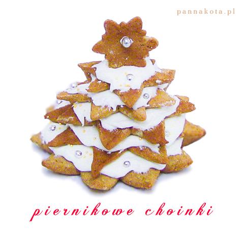 piernikowe choinki, pannakota.pl