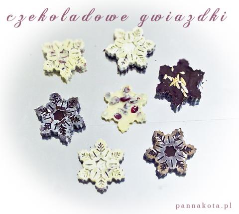 gwiazdki czekoladowe, pannakota.pl