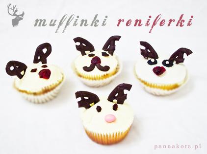 myffinki reniferki, pannakota.pl