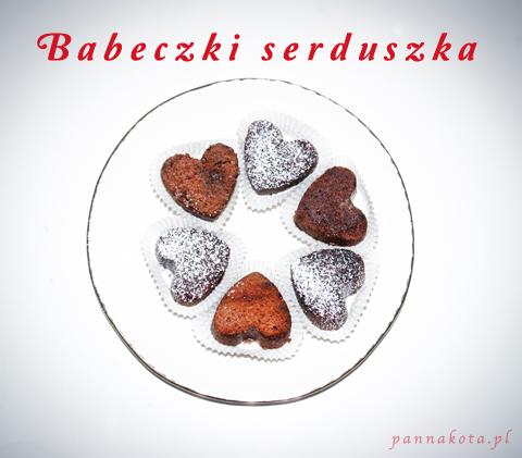 walentynkowe babeczki serduszka, pannakota.pl